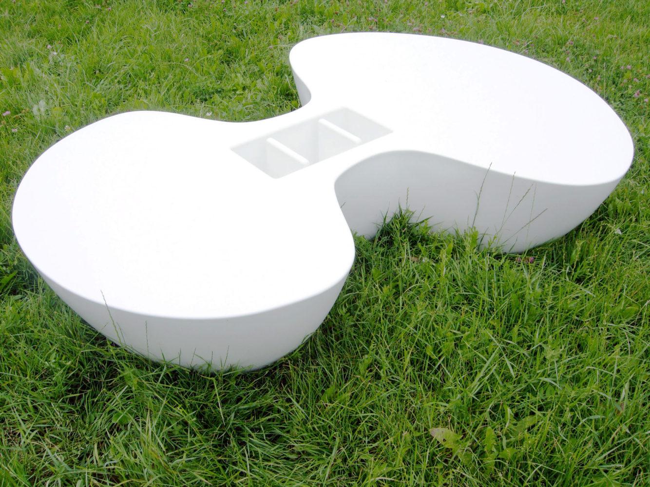 Table basse design en Corian®