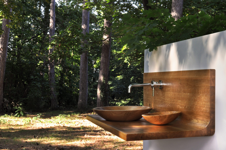 Meuble vasque en Chêne massif