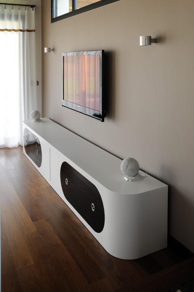 Meuble TV en Corian®