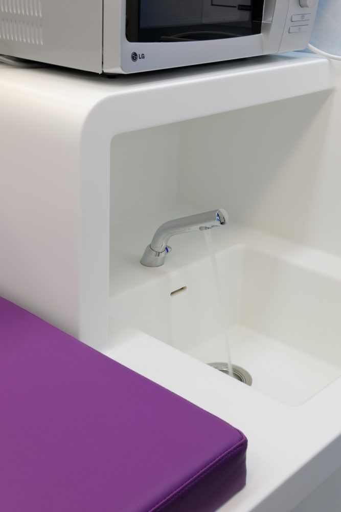Espace sanitaire en Corian®